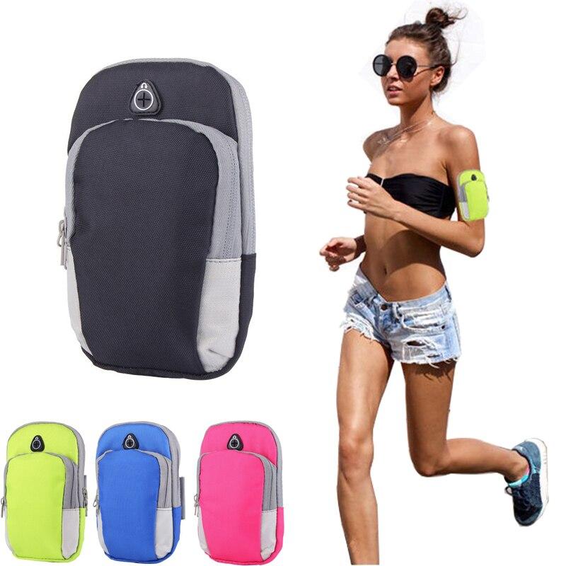 Running Bag Lightweight Running Mobile Phone Arm Bag Breathable Fitness Bag Perspiration Riding Bag Multi-function Sports Bag