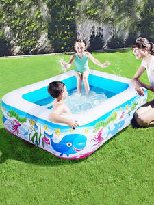 Inflatable-Pool Baby Kids Large-Size Children's High-Quality Square for Home-Use