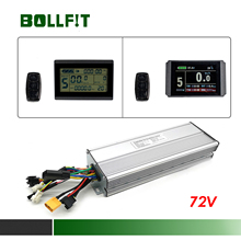 BOLLFIT E Bike Kunteng KT LCD 3 8H Display 72V 60A Controller per Bicicletta Elettrica Kit di Conversione Display accessori
