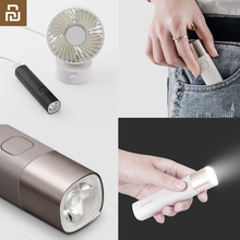 Youpin SOLOVE פנס X3 USB סוג C נטענת חשמלי לפיד בהירות EDC פנס 3000mAh כוח בנק מיני LED לפיד