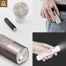 Youpin solo el feneri X3 USB C şarj edilebilir elektrikli fener parlaklık EDC el feneri 3000mAh güç bankası Mini LED el feneri