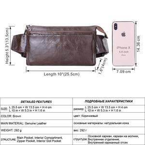 Image 2 - MISFITS วัวหนังเอวกระเป๋ากระเป๋าเดินทางผู้ชาย VINTAGE Small Fanny Pack เข็มขัดชายกระเป๋ากระเป๋าโทรศัพท์มือถือโทรศัพท์กระเป๋า