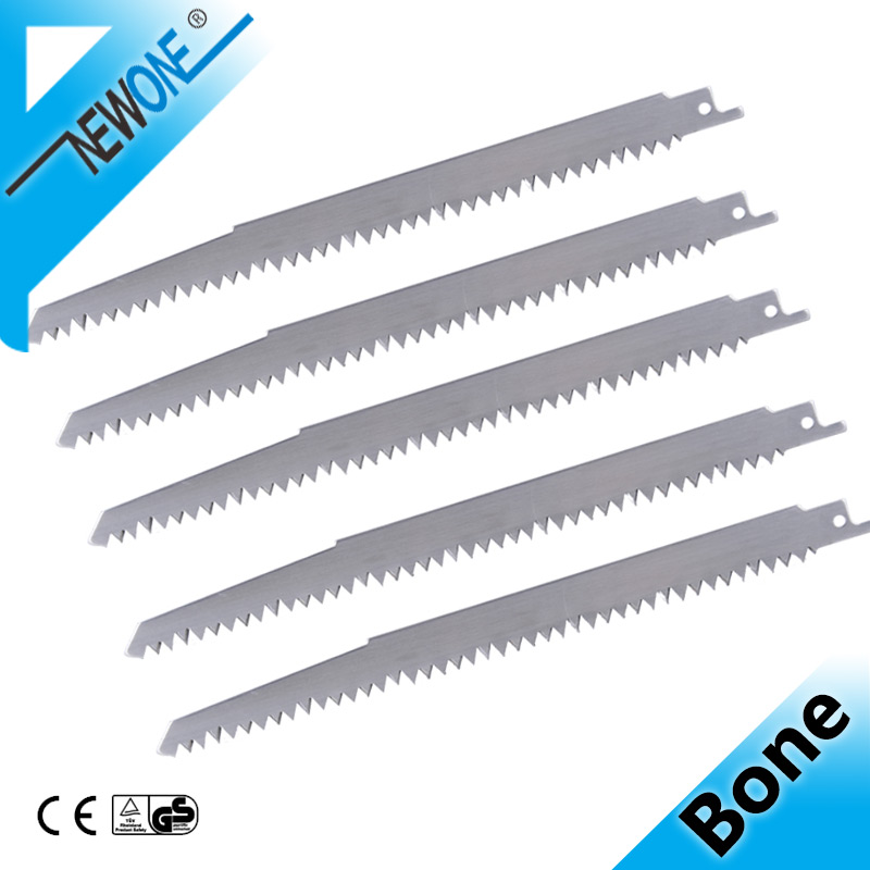 Stainless Steel Big Teeth Saw Blades 240mm Multi Cutting For Wood, Frozen Meat, Bone On Reciprocating Saw Power Tools Accessory