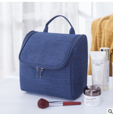Купить с кэшбэком 2020 New Cosmetic Bag  Hanging Travel Storage Bags Large Capacity Cationic Oxford Cloth Business Trip Bathroom Wash Bag