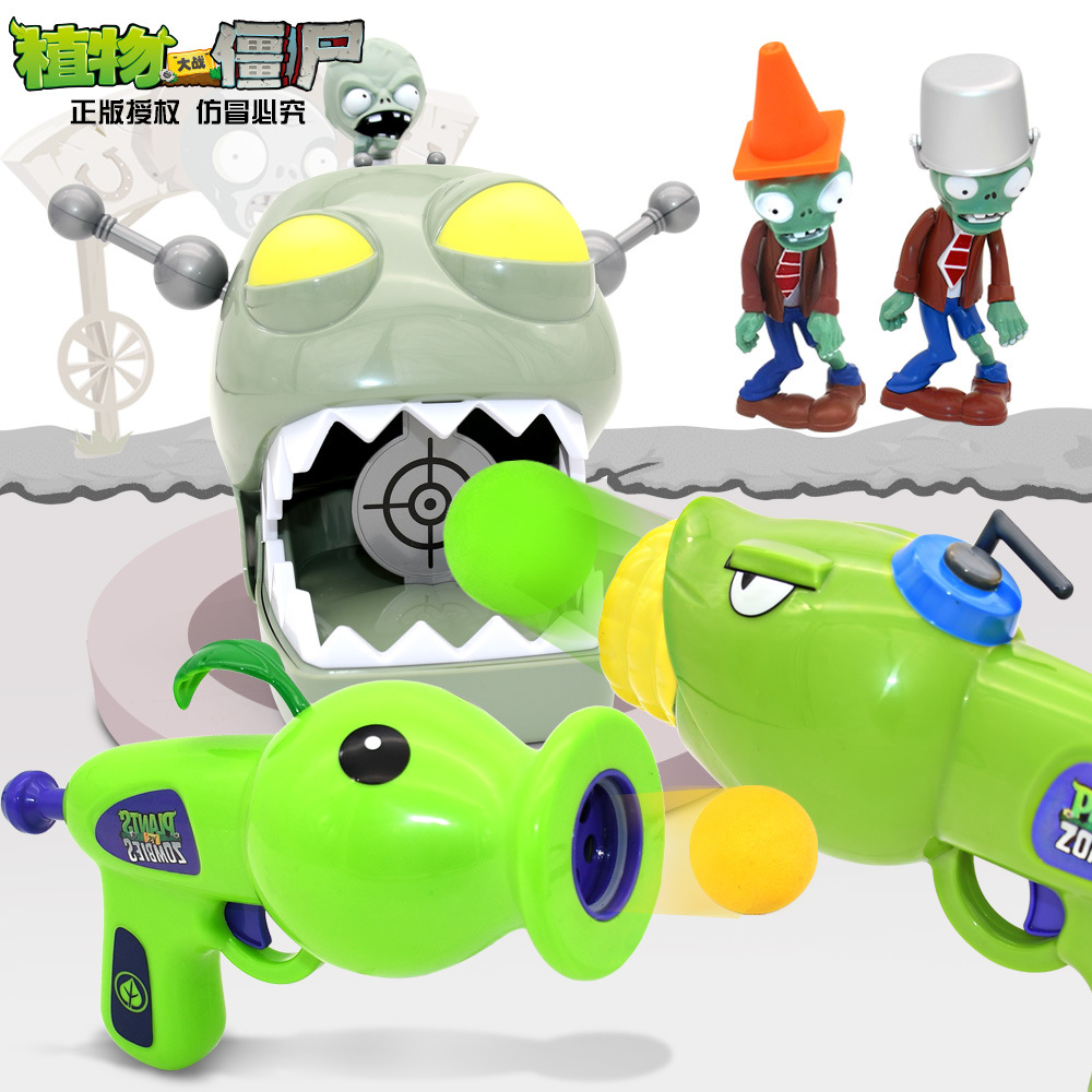 2020 New PVZ Plants Vs Zombies Peashooter Pvc Action Figure Model Toy Gifts Toys Children High Quality Brinquedos Toys Doll