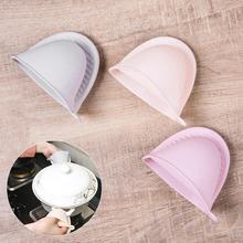 1 шт. перчатка для кухонной печи силиконовый для микроволновой печи перчатка анти-ожоги изолированный Термопот клип