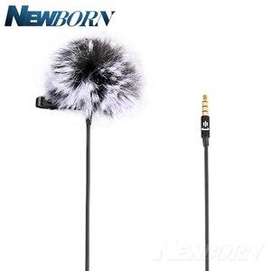 Image 5 - Microfone de áudio e gravação de vídeo para celular, condensador, lavalier, para iphone 8, 7, 6, 5, YC LM10, ipad, huawei, samsung, xiaomi, 4S tipo c