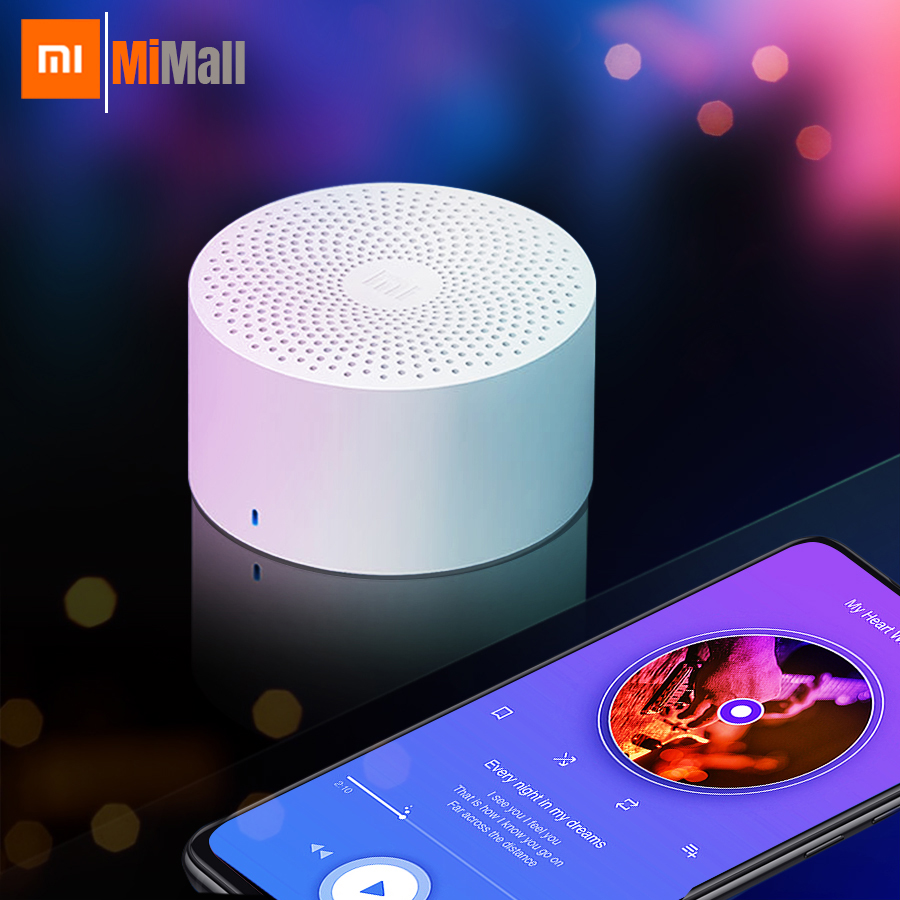 2019 Xiaomi XiaoAi Portable Mini Wireless Bluetooth Speaker Subwoofer Smart Voice Control Portable Bluetooth Speaker Waterproof
