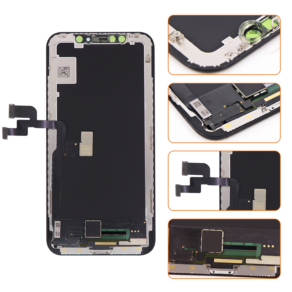 Image 2 - Grade AAA  LCD Screen For iPhone X LCD Display with 3D Touch Screen Digitizer Assembly Replacement-in Mobile Phone LCD Screens from Cellphones & Telecommunications