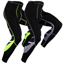 Быстросохнущие леггинсы мужские компрессионные Джоггеры для спортзала обтягивающие брюки Баскетбол Фитнес Бег тренировочная спортивная одежда стрейч брюки