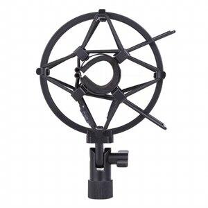 Image 3 - Metall Shockmonut Studio Aufnahme Mikrofon Shock Mount Spinne Mic Halter Clip