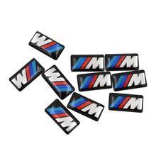 10 шт. Автомобильная наклейка на автомобили для BMW 1 3 5 7 серии GTX1X3X5X6 M1 M2 M3 M4 M5 M6 автомобильные колеса и аксессуары Авто Наклейка s для автомобиля
