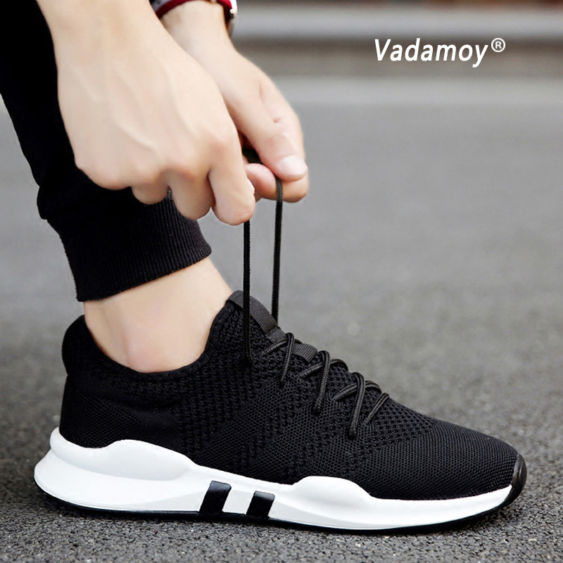 Men Shoes Summer Breathable Sneakers Casual Shoes Female Comfortable Trainers Footwear Plus Size Zapatillas Hombre Deportiva