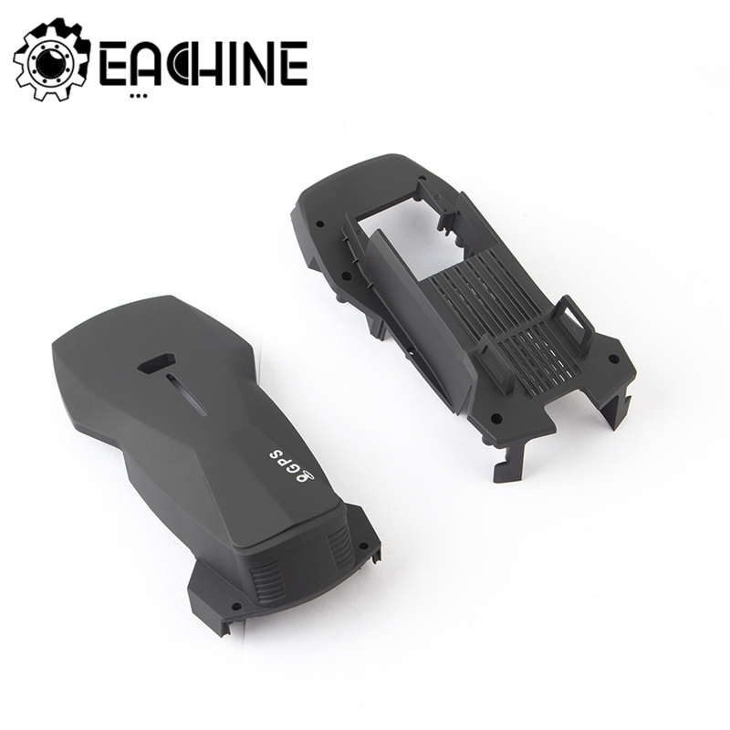 Original Eachine E520S 2pcs ABS Body Cover Shell Set Top Bottom Protect Aircraft GPS RC Drone Quadcopter Spare Parts