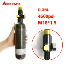 Acecare Pcp Air Rifle 350Cc 300Bar Tank  Carbon Fiber Cylinder  Mini Paintball Tank&Regulator Valve Air Rifle Airforce Condor pcp air force condor 0 35l 350cc 4500psi 300bar high pressure carbon fiber air cylinder popular pcp paintball tank drop shipping