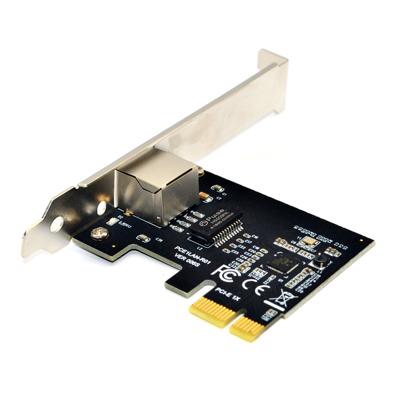 PCI Express PCI-E Network Card 1000Mbps Gigabit Ethernet 10/100/1000M RJ-45 LAN Adapter Converter Network Controller RTL8111F