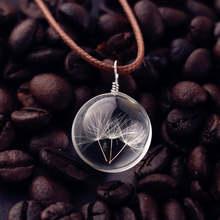 Ювелирные изделия сушеный цветок искусственный высушенный ожерелье