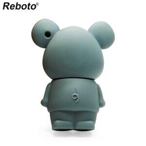 Image 4 - Retobo kalem sürücü 4GB 8GB 16GB 64GB 32GB sevimli fare USB Flash sürücü bellek sopa Mini U disk USB 2.0