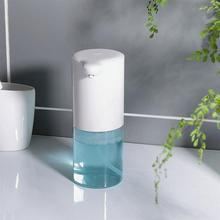 Dispensador de sabonete para banheiro, dispensador de sabonete automático em aço inoxidável touchless, com sensor de movimento infravermelho, para prato de mãos livres