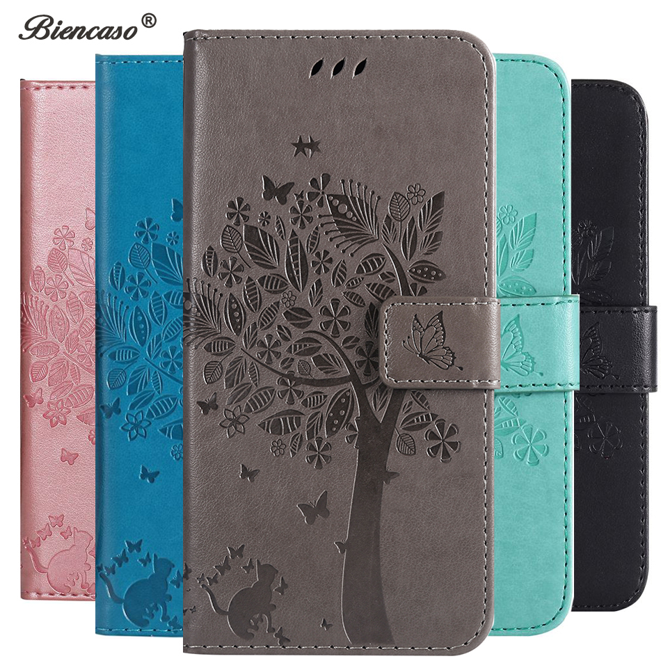 3D Tree Leather Case For LG Stylo 5 Cover For LG Q Stylus 4 Q8 2018 G8 V50 V40 Thinq X Power 3 Aristo 2 Plus K8 K9 K10 K11