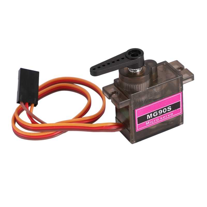 1Pcs MG90S Metal Gear Digitale 9G Servo SG90 Voor Rc Helicopter Vliegtuig Boot Auto MG90 9G