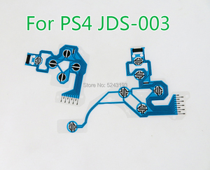 Image 3 - For PS4 Slim pro Controller Conductive Film Keypad flex Cable JDS 001 011 030 040 050 Replacement Button Ribbon Circuit Board