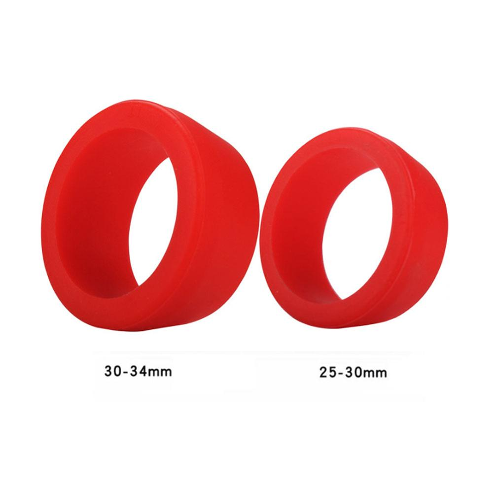 MTB Road Bicycle Bike Seat Post Silicone Rubber Ring Waterproof Dust Cover Grip