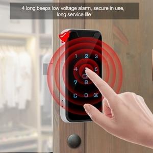 Image 3 - חדש בית חכם דיגיטלי RFID סיסמא מנעול קשר לוח מקשים אלקטרוני קבינט נעילת משרד חכם מנעול