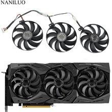 T129215SU 7Pin GPU kartı soğutucu ASUS ROG STRIX-GeForce RTX 2070 2080 süper Ti oyun RTX2080 RTX2080Ti fan
