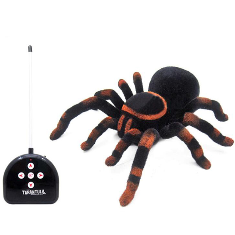 Tarantula Stuffed Animal, Multi Function Simulation Remote Control Four Way Spider Toy Infrared Remote Control Tarantula Toy Festival Whole Person Toy Rc Robots Animals Aliexpress