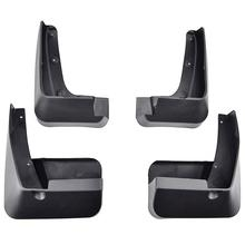 4PCS ABS Plastic fender For Subaru Forester 2014 2015 2016 2017 2018 Splash Guards Set Front Rear Mudguards Accessories styling