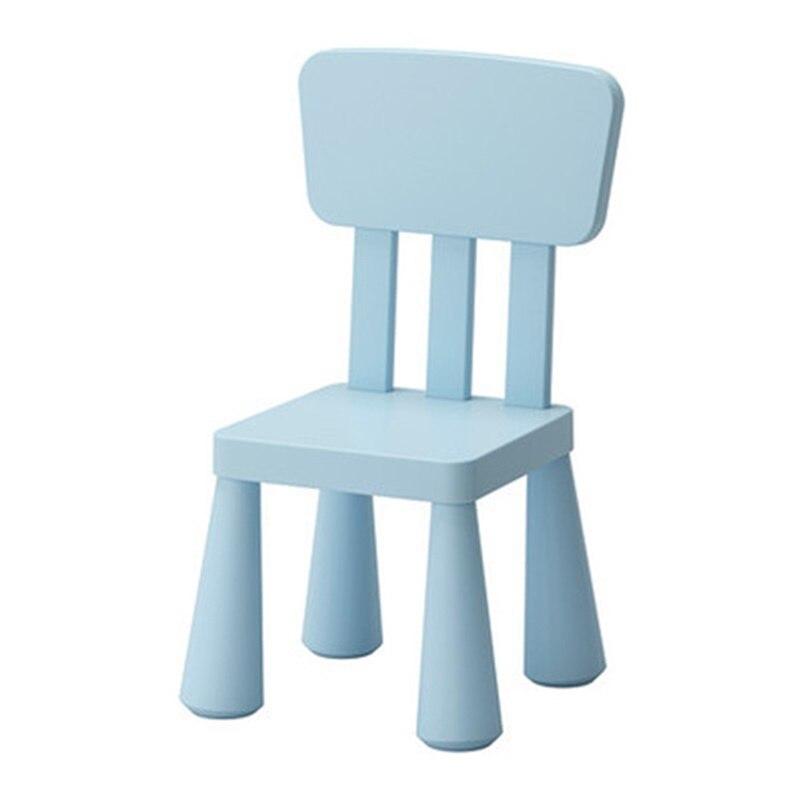 67*30*30cm Safety Kindergarten Chair Children Back-rest Chair Thicken Kid's Stool