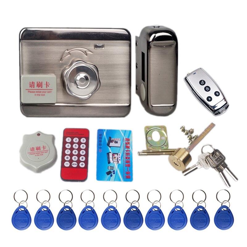 1000 Users Master Electronic Door Lock Rfid Card Reader Motor Lock Security Access Control Fechadura Digital Serrure Electrique
