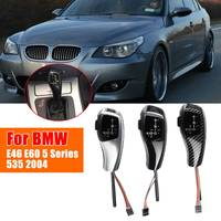 LED Manual Gear Knob Stick Lever 83mm Automatic Knob For BMW E39 E46 E53 E60 E61 5 Series X3 E83 LCI Sedan Coupe