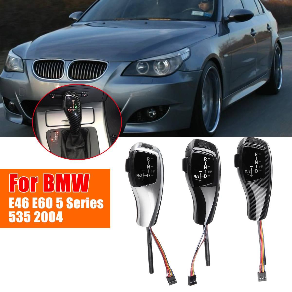 LED levier de levier de vitesse manuel 83mm bouton automatique pour BMW E39 E46 E53 E60 E61 5 série X3 E83 LCI berline coupé