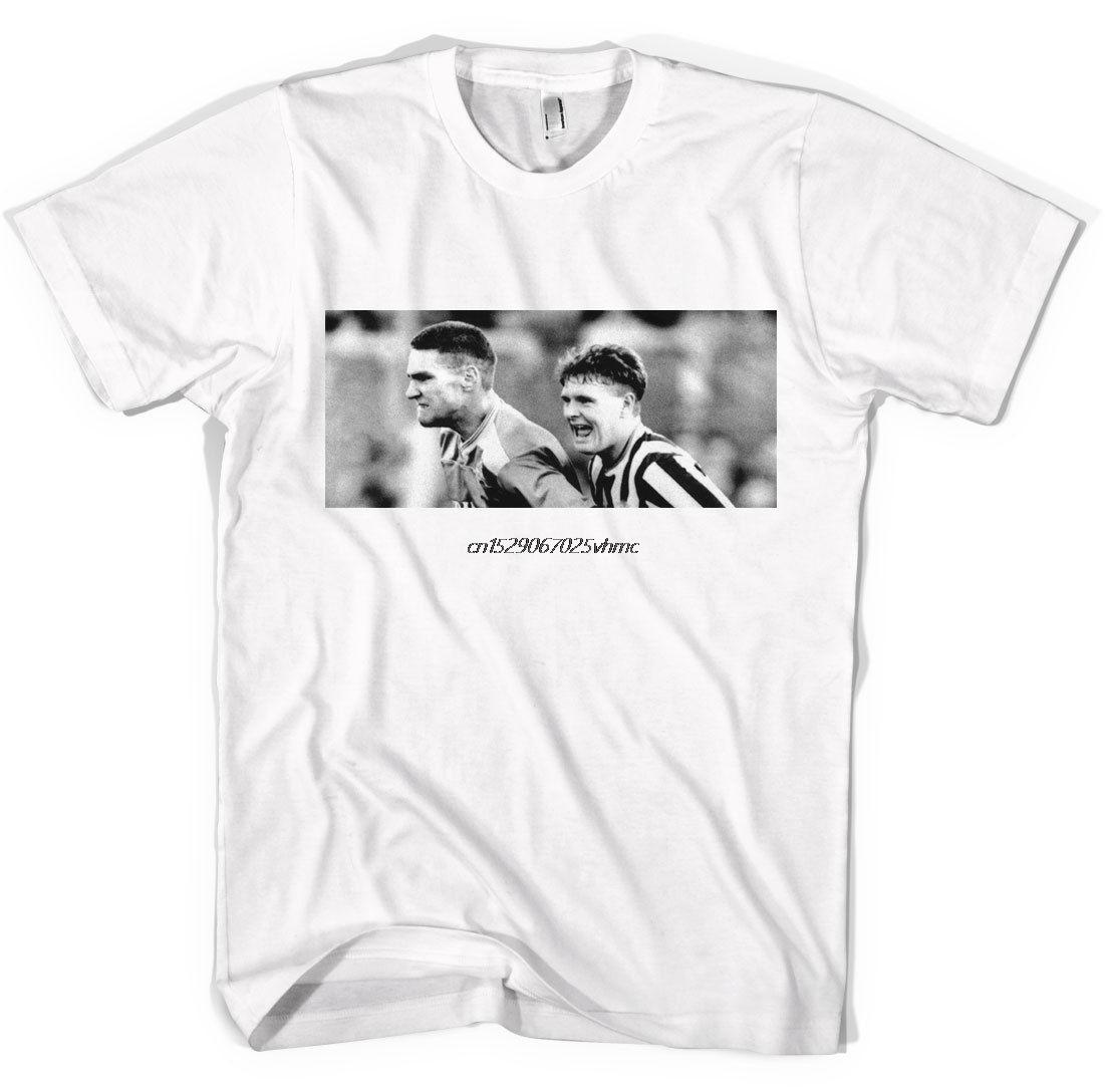 Vinnie Jones Gazza Football Fan Terrace  Hooligan Unisex T shirt  All Sizes Col