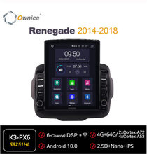 Ownice Octa 8Core Android 10.0 Mobil Radio ForJeep Renegade 2014 2016 2017 2018 GPS 2 Din Mobil Stereo Player 4G LTE Tesla Gaya(China)