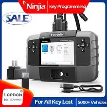 TOPDON T-Ninja 1000 Key Programming Tool All Key Lost Immobilizer Read Pin Delete Add Key Key Coding Automative Immobilizer