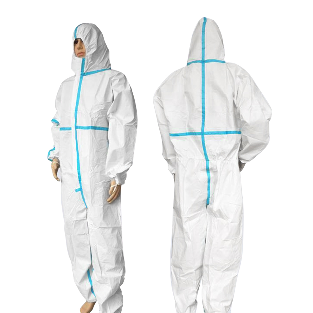 Professional Hooded protective clothing Antibacterial Anti-Virus Chemical Protective Dust-proof Clothing Virus protection