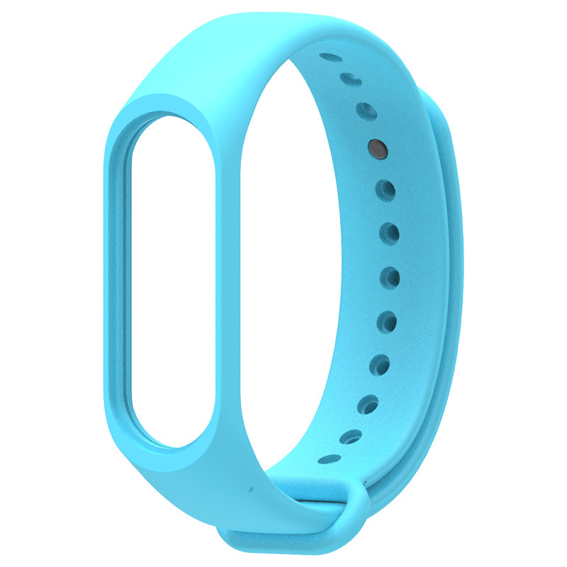 Smart Wristband Replacement Sport Watch Band Solid Color Wristband TPU Material Wrist Strap Replacement For Xiaomi Mi Band 4 3