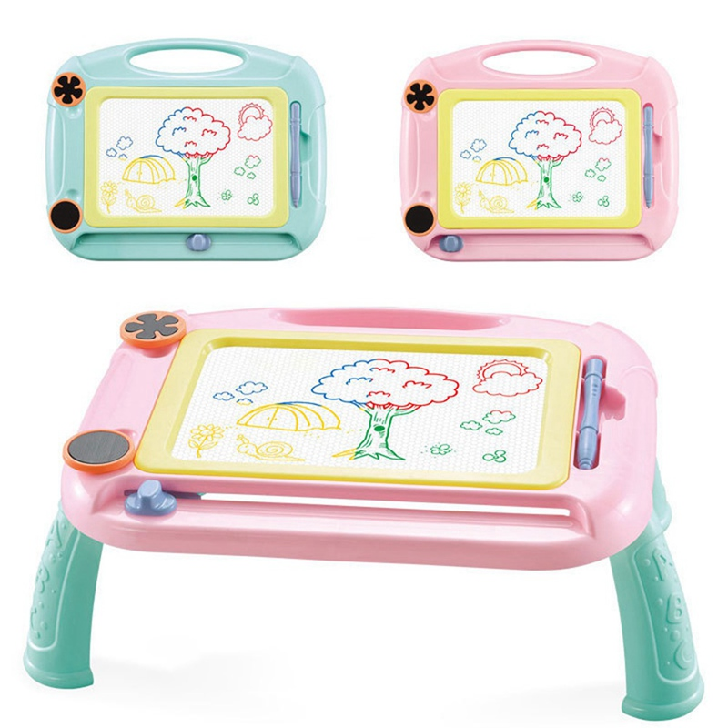 Cute Educational Toys Children's Drawing Board Magnetic Erasable Reuse Baby's Graffiti Color Drawing Board Writing Board
