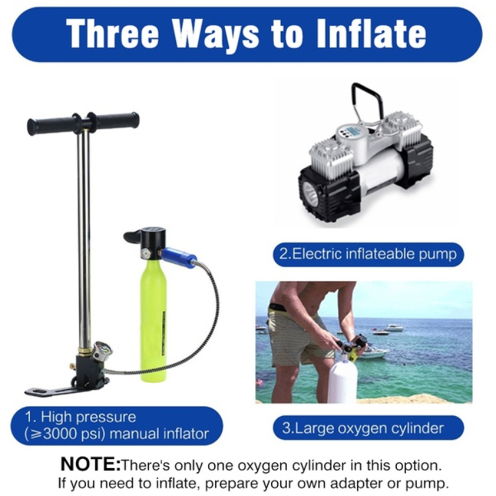 2019 NEW SMACO Diving Equipment Mini Scuba Diving Cylinder Scuba Oxygen Tank Air Valve for Snorkeling Underwater Breathing Kits