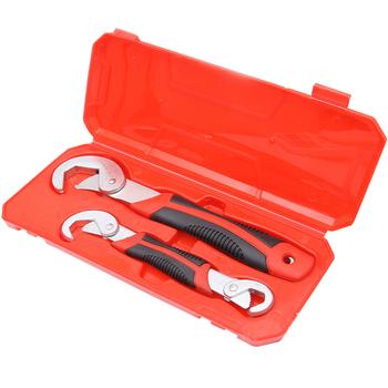Regulowany klucz uniwersalny klucz 9-32mm fajka wodna klucz narzędzia do naprawy samochodu klucz klucz zestaw narzędzi ręcznych tanie i dobre opinie HGhomeart ELECTRICAL Połączenie Wkrętaki Gniazda Ratchet CN (pochodzenie) EE-0855 Przypadku Narzędzie do naprawy samochodu