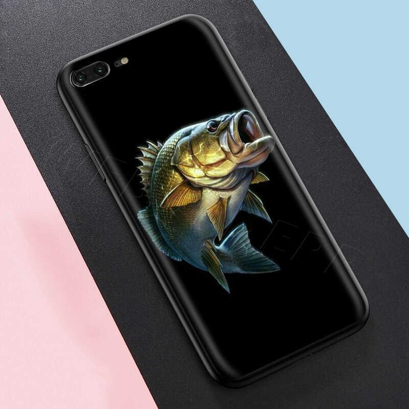 Webbedepp Pesca Alla Carpa Caso per il iPhone di Apple 11 Pro XS Max XR X 8 7 6 6S Plus 5 5S SE
