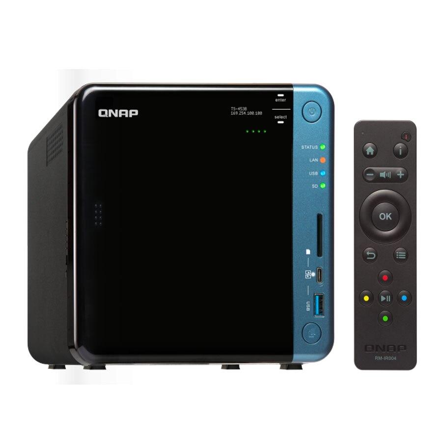 QNAP TS-453B 4G speicher 4-bay diskless nas, nas server nfs netzwerk storage-cloud-storage, 2 jahre garantie