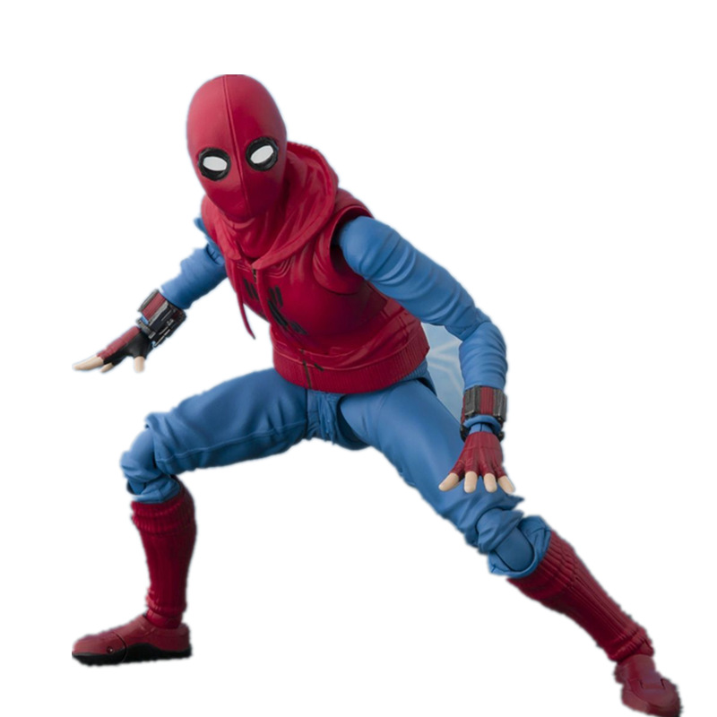 NEW 15cm Spider-Man Homecoming Spiderman Super Hero Avengers Action Figure Toys Doll Christmas Gift No Box B592