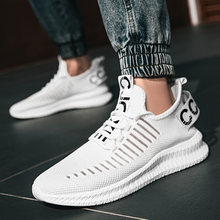 Men Sneakers Breathable Running Shoes Outdoor Sport Fashion Comfortable Casual Couples Gym Mens Shoes Big Szie 46 47