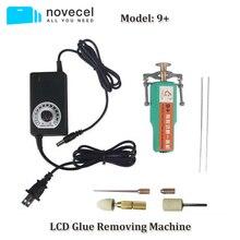 Novecel 9 + OCA Colla Rimozione Strumento per il Telefono Mobile di Riparazione Dello Schermo LCD Mini Elettrica Adesivo di Rimozione con Regolatore di Velocità