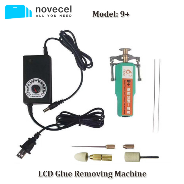 Novecel 9 + OCA דבק הסרת כלי עבור טלפון נייד LCD מסך תיקון חשמלי מיני דבק Remover עם מהירות בקר