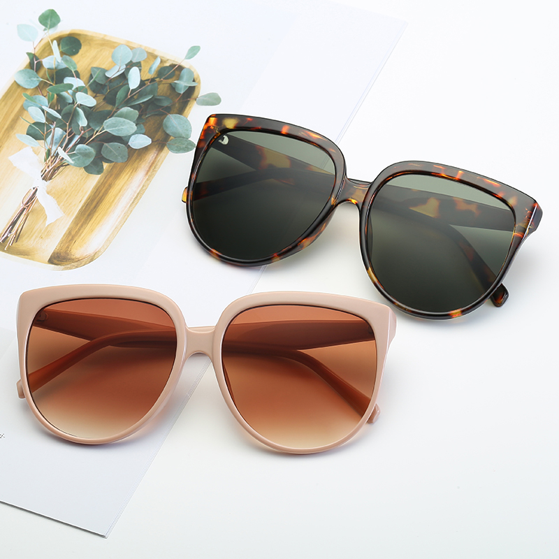 Sunglasses Women Cat Eye  Brand Designer Fashion Coating Mirror Sexy Cateye Sun Glasses  Women's Glasses UV400